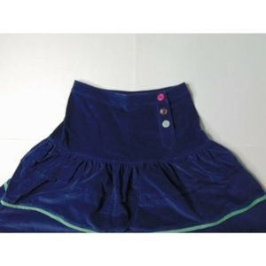 Marc Jacobs Skirts - Marc Jacobs Size 4 Corduroy Flare Skirt Blue